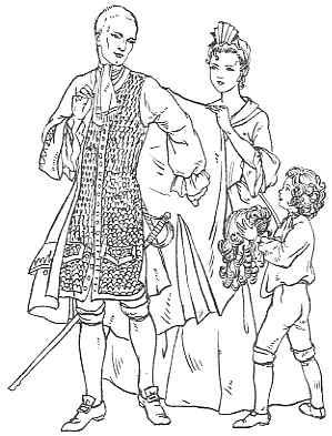 Clothing 1700 1735
