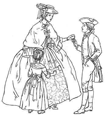 Clothing 1735 -... Aristocracy Means