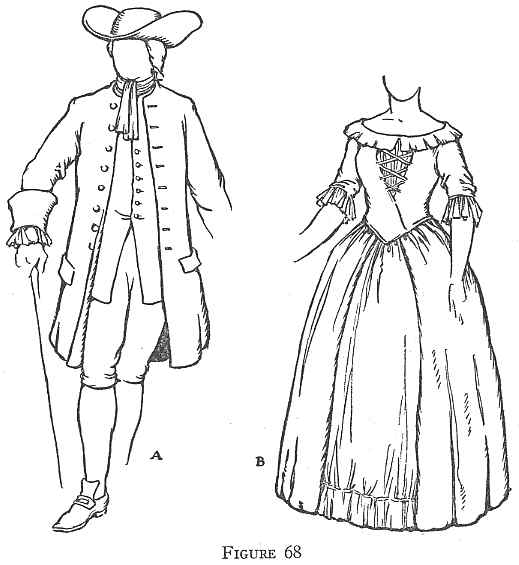 Colonial Development Simple Drawing : Colonial clothing pennsylvania to the revolution