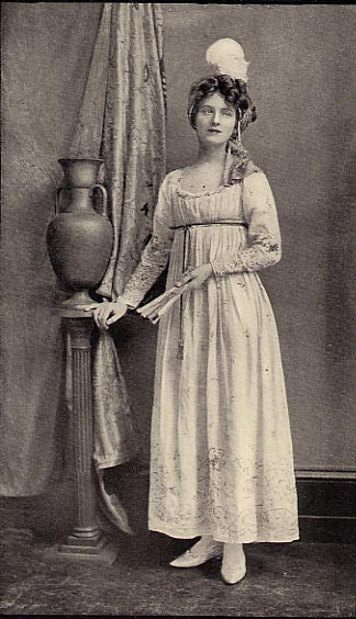 Old Fashioned English Dresses